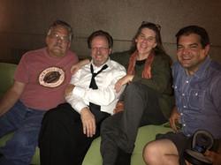 AFI director Bob Gazzale with clan.