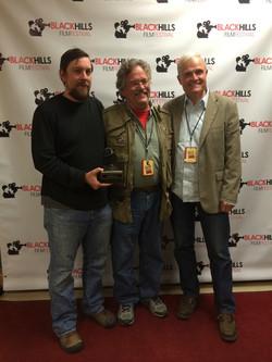 Kieth Merrill awards Best Doc - BHFF