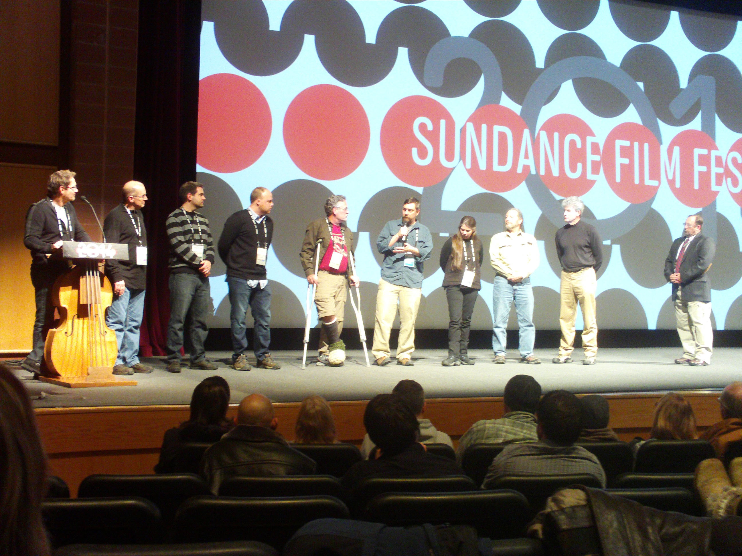 Opening night - Sundance.