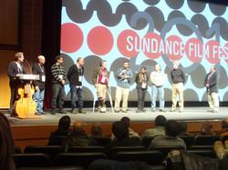 Opening night - Sundance.