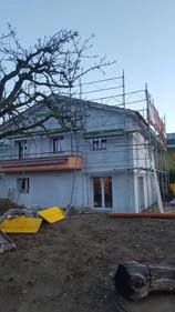 Rénovation d'une villa à Lonay