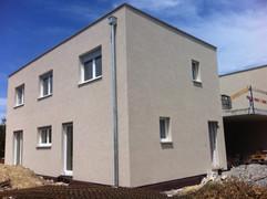 Consctrution de deux villas jumelles à Aumont ( Fribourg)