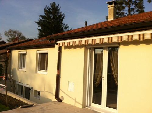 Rénovation villa à Genève