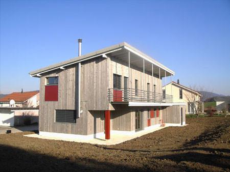 Consctruction d'une maison en bois