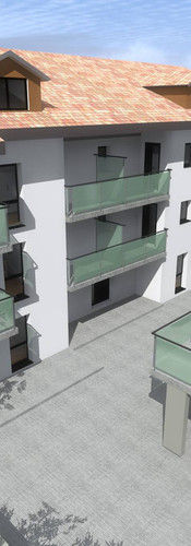 02 immeubles de 17 appartements à 1076 Villarepos
