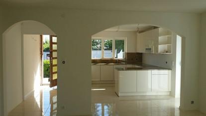 Rénovation d'une villa à Petit Lancy