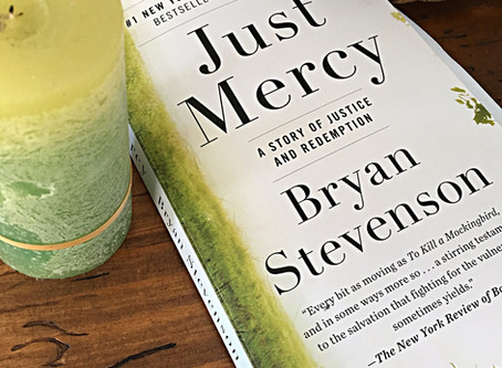 "April Book Club: ""Just Mercy, A Story of Justice and Redemption"""