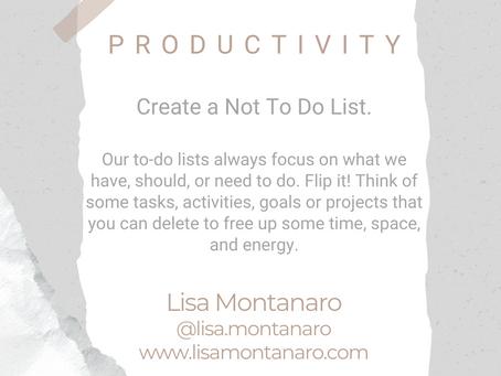 #WIPMondays: Productivity with Lisa Montanaro