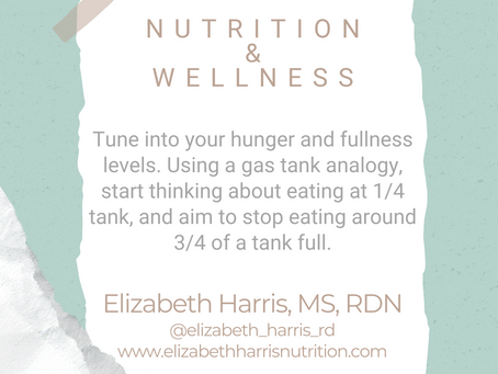 #WIPMondays: Nutrition and Wellness with Elizabeth Harris