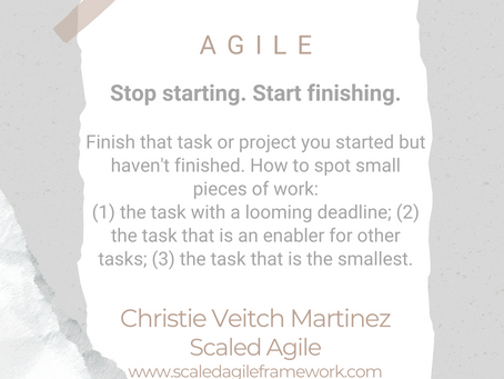 #WIPMondays: Agile with Christie Veitch Martinez