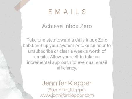 #WIPMondays: Inbox Zero