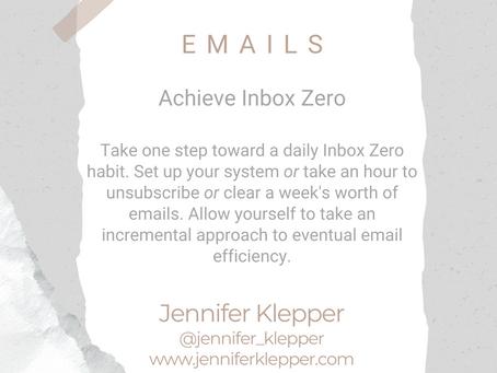 #WIPMondays: Inbox Zero