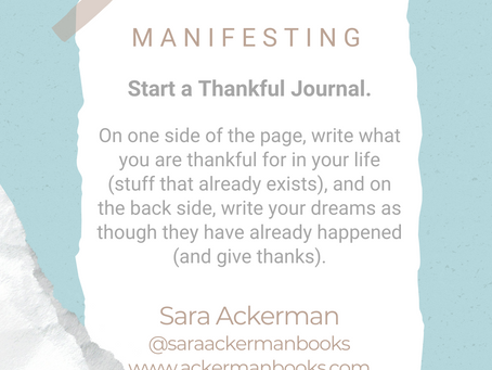 #WIPMondays: Manifesting with Sara Ackerman