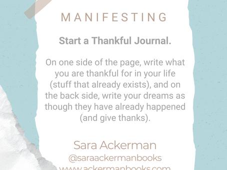 #WIPMondays: Manifesting with Sara Ackerman