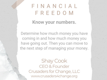 #WIPMondays: Financial Freedom with Shay Cook