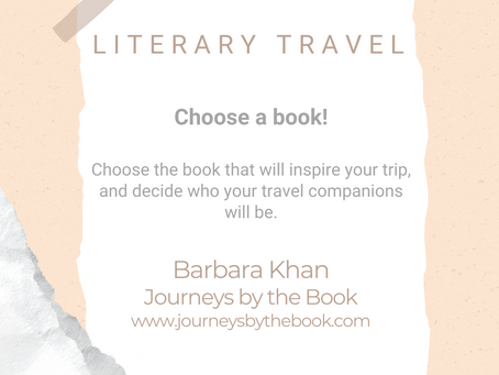 #WIPMondays: Literary Travel, with Barbara Khan