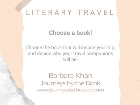 #WIPMondays: Literary Travel, with Barbara Khan