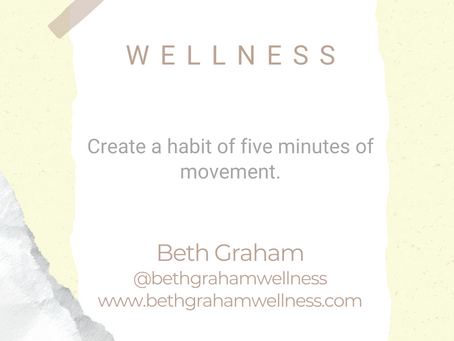 #WIPMondays: Wellness with Beth Graham