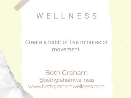 #WIPMondays: Wellness with Beth Graham