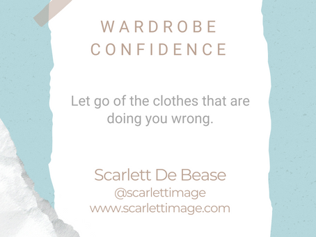 #WIPMondays: Wardrobe Confidence with Scarlett De Bease