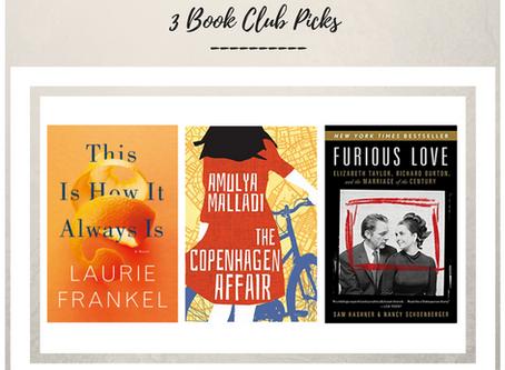 Book Club Selections November 2017
