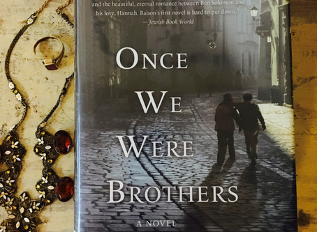 "June Book Club: ""Once We Were Brothers"""