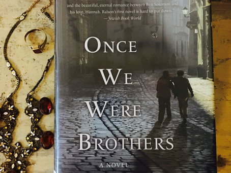 """June Book Club: """"Once We Were Brothers"""""""