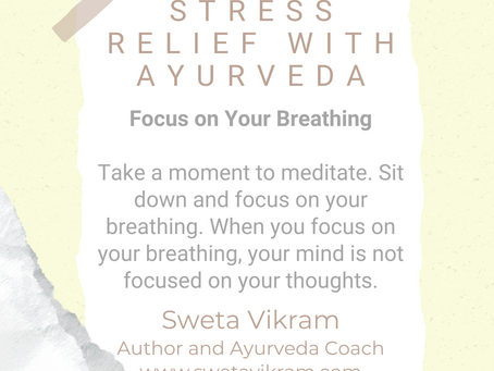#WIPMondays: Stress Relief with Ayurveda, with Sweta Vikram
