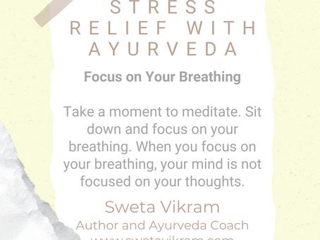 #WIPMondays: Stress Relief with Ayurveda, with Sweta Vikram