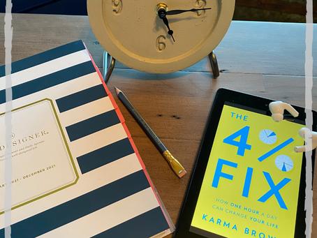 #WIPMondays Book Review: The 4% Fix