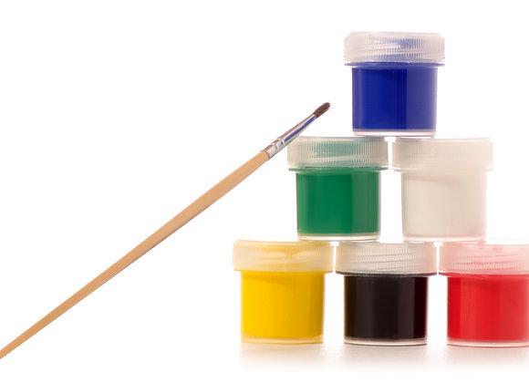 Mini Paint & Brush Kit
