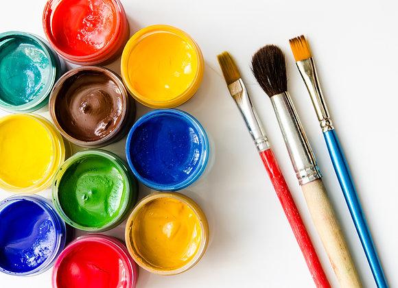 Paint &    Brush Kit