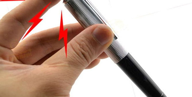 Electric Shock Pen Toy Joke Funny Prank Trick Novelty