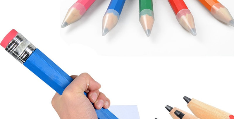 35cm Wooden Pencil Large Stationery Novelty Toy
