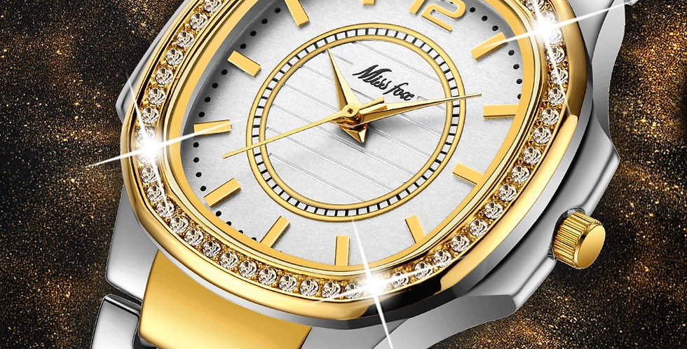 Women Fashion Watch 2020 Geneva Designer Watch Luxury Brand Diamond Quartz Gold