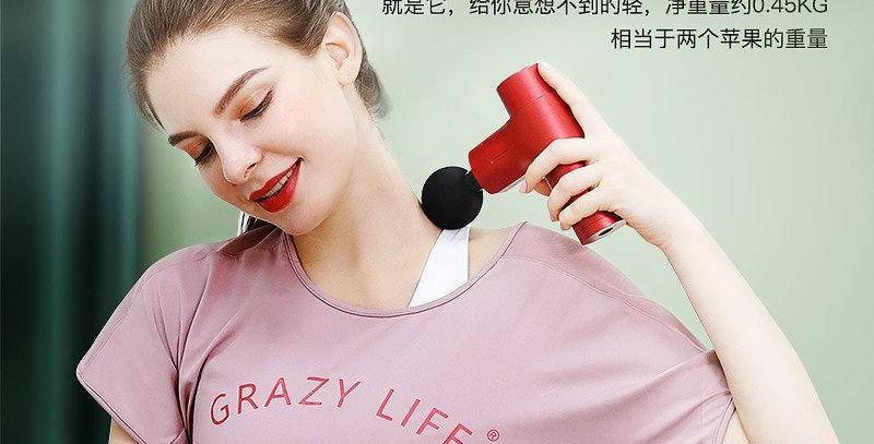 Electric Mini Handheld Fascia Gun Massager
