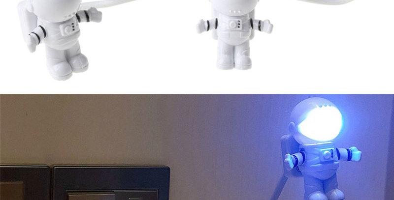 Creative Spaceman Astronaut LED Flexible USB Light