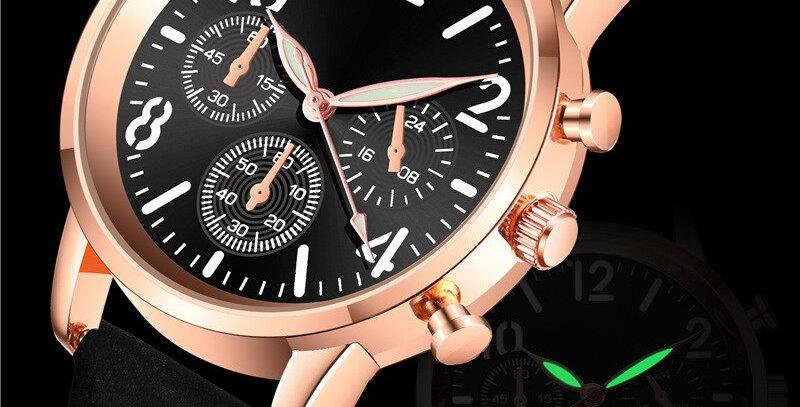 NEW Watch Women Fashion Casual Leather Belt