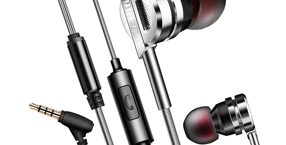 QKZ DM9 Zinc Alloy HiFi Earphone in Ear Headset  MP3/Gaming