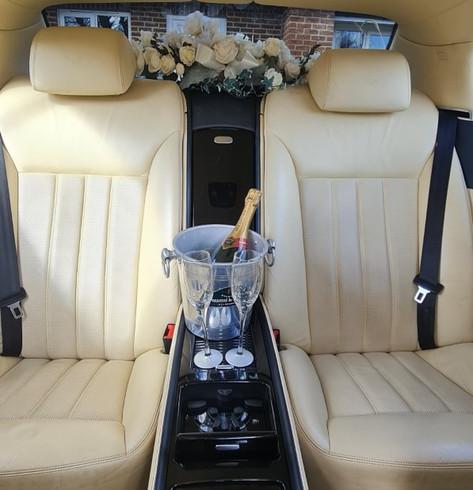 Bentley W12 Interior