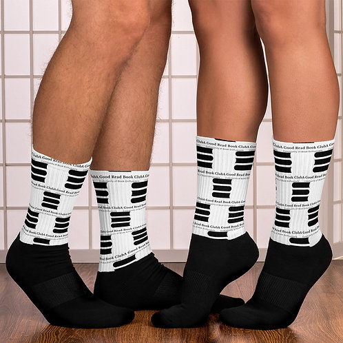 AGR All-Over Logo Socks