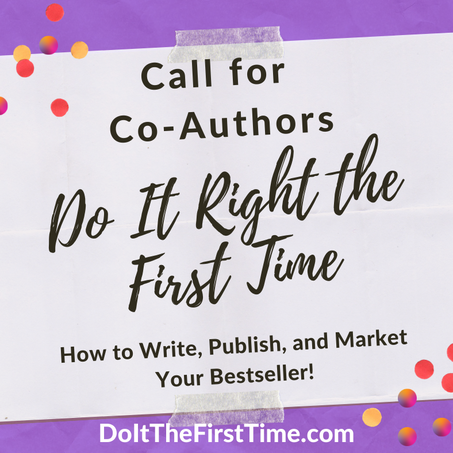 Call for Author Submissions