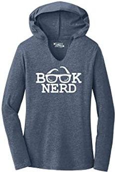 Comical Shirt Ladies Book Nerd Funny Tee Geek Gift Hoodie Shirt