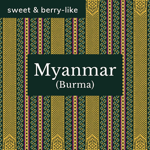 Myanmar Bant Sawk  -  Natural, uncertified organic