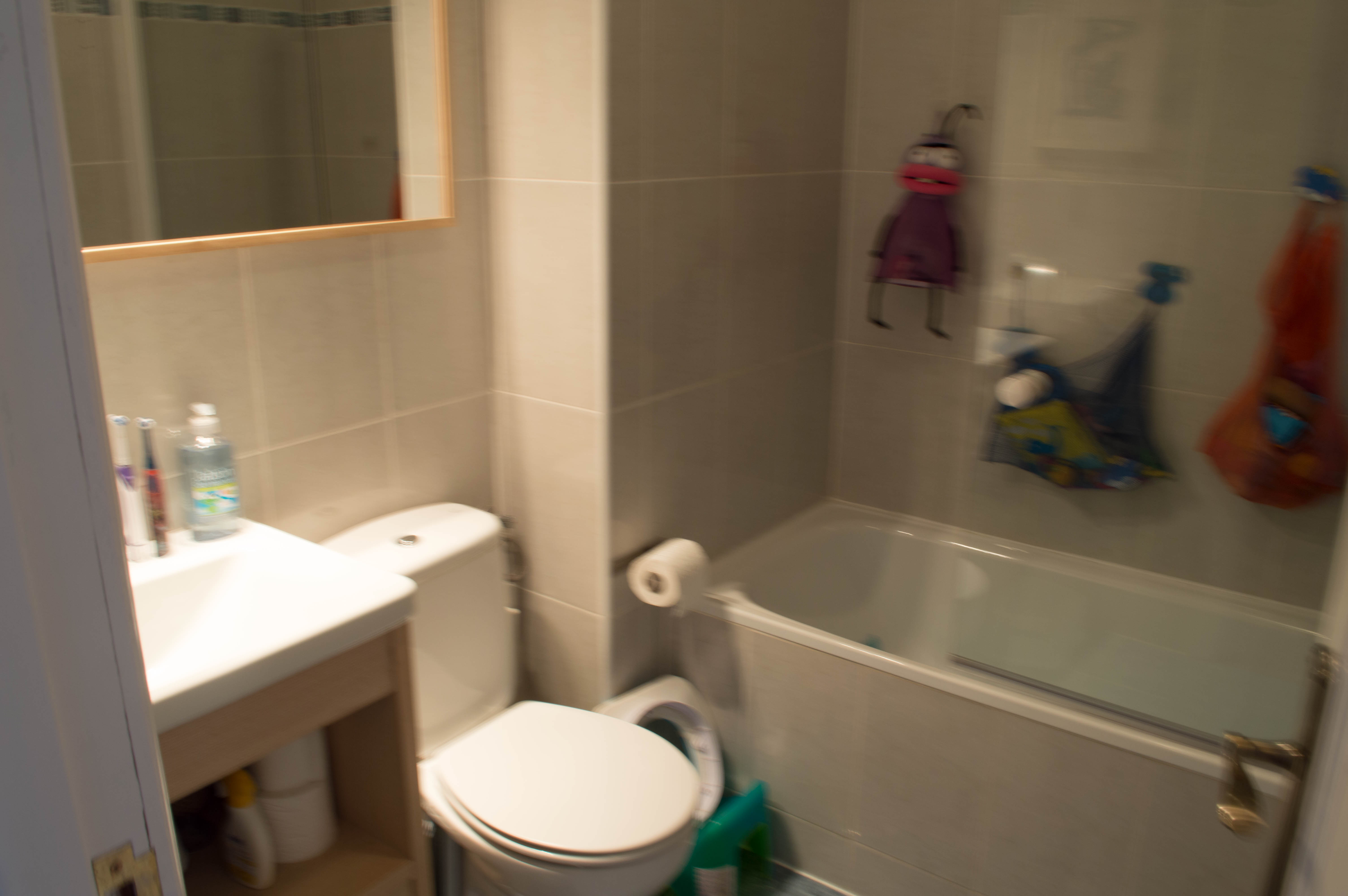 Baño - ANTES