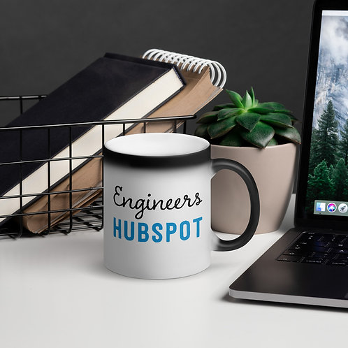 Engineers Hubspot Matte Black Magic Mug