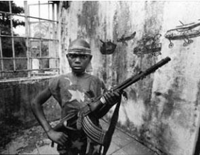 A Child Soldier in Sierra Leone