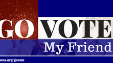 Go Vote, My Friend: part three