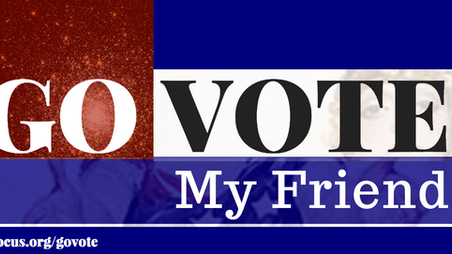 Go Vote, My Friend: part three