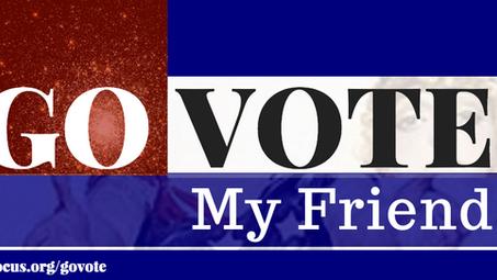 Go Vote, My Friend: part four